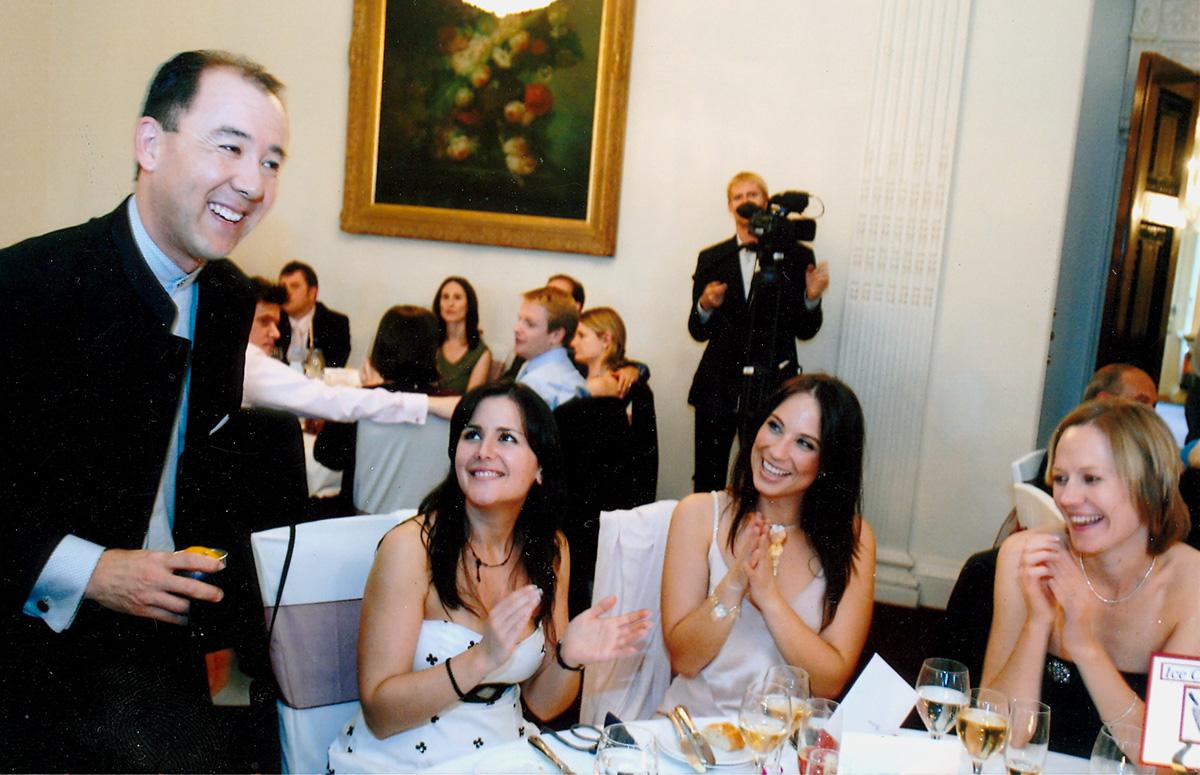 Wedding Table card trick